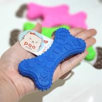 TPR bone pet toy mainan gigit kunyah anjing kucing, chewing dog cat