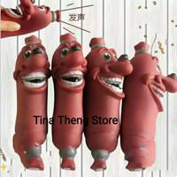 Mainan Gigit Anjing Bunyi Mainan Kunyah Karet Anjing Dog Toy