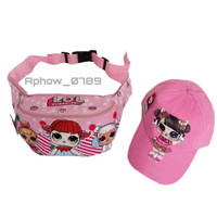 Tas selempang anak Lol gratis topi led