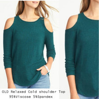 OLD Relaxed Cold Shoulder blouse