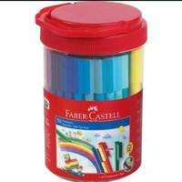 Sepidol spidol connector pen Faber-Castell isi 50 warna