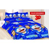 Sprei Bonita Single Size 120 x 200 Motif Blue Doraemon