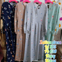 Baju LongDress Zalina Dress Series Murah