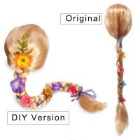 Wig Rapunzel / Wig Anak Rambut Panjang Rapunzel Princess CW20