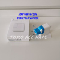 POWER ADAPTOR APPLE FAST CHARGER USB-C 30W ORIGINAL 100 IPHONE/MACBOOK