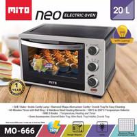 Oven Listrik / Oven mito Neo 666 / Oven Hemat Listrik / Oven Low watt