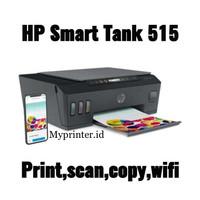 PRINTER HP SMART TANK 515 AIO WIFI INCLUDE TINTA - GARANSI RESMI 2THN