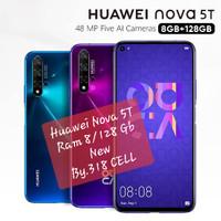 Huawei Nova 5T Ram 8 Internal 128 Gb New Garansi Resmi 100% Original