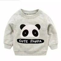 BAJU SWEATER ANAK Panda 1 - 8 Tahun Baju Kaos Sweater/Jaket Anak