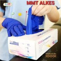 Sarung tangan Nitril /examination glove/ Sarung Tangan Medis Non powd