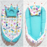 Baby Nest Bayi / Kasur Bayi Motif Lucu Murah