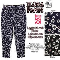 Flora Pants 38 Celana Panjang Bahan Katun Jumbo Wanita