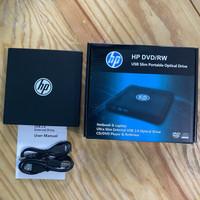 HP DVD RW External USB Ultra Slim 2.0 DVD Portable Optical Drive