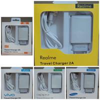 Travel charger mini merek ori 99% 2.A REAL kwalitas baguss