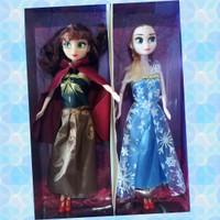 Mainan Boneka Frozen Anna Elsa Sepasang Barbie Berbie Set