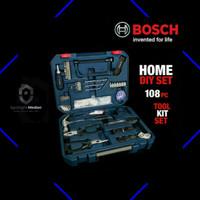 Perkakas Rumah Set Bosch 108 Pcs Home DIY / Tool Kit Set