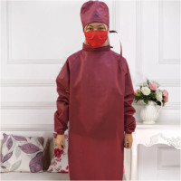 Surgical Gawn Baju Gawn Baju Medis Gaun Kimoni Baju Hazmat