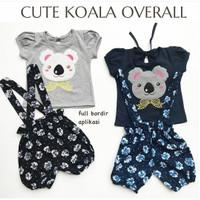 Baju setelan kaos gambar lucu rok tutu legging fashion anak bayi cewek