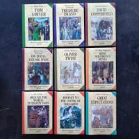 Buku Novel Classics Versi Inggris - Mark Twain Charles Dickens Jules
