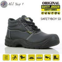 Sepatu Safety Jogger Safetyboy S1P Oruginal