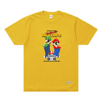 SKYMO APPAREL TSHIRT MIXTAPE YELLOW