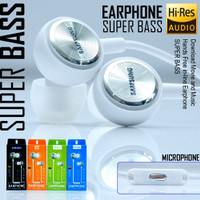 Headset Hf OPPO SUPER BASS PACKING IMPORT Handsfree SuperBass Bagus