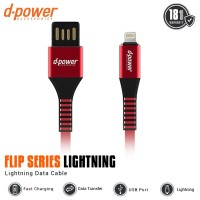 Dpower Flip Series USB Data Cable Lightning iPhone