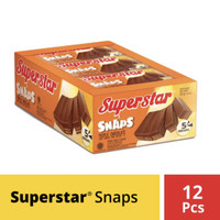 Wafer Superstar Snap @2000 ( 1 container isi 12 pcs )