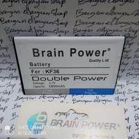 Batre Batrai Hp Huangmi M5 KF36 KF 36 Brain Power Battery Original