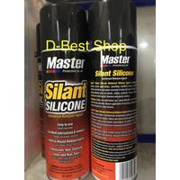 Master Silant Silicone 600ml silikon spray tahan panas/dingin anti air