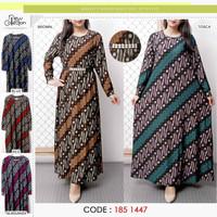 Baju Gamis wanita terbaru /baju gamis kaos/ baju gamis batik
