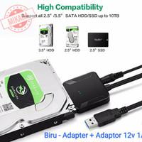 Kabel Converter HDD / SSD USB 3.0 to SATA 2.5 dan 3.5 inch Enclosure