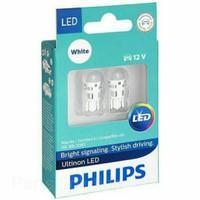 Lampu Senja Putih Innova Avanza Xenia Agya Ayla PHILIPS LED T10 W5W