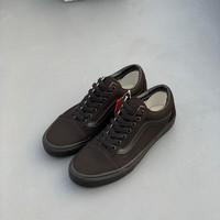 Jual Sepatu Vans Oldskool Full Black Original Sneaker