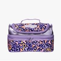 Smiggle Lunch Bag Box Tas Bekal Makan Anak Flow Ungu Love Original