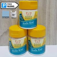 Baking Soda / Soda Kue Koepoe Koepoe Per 6pcs 81gr Botol