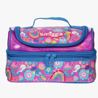 Smiggle Lunch Box Bag Flower Pink Blue Tas Bekal Makan Anak Original