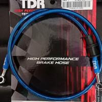 Selang rem TDR Belakang Blue 60cm 24in