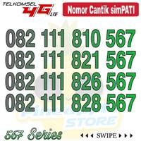 Nomor Cantik Simpati telkomsel 4G LTE seri 082 111 xxx 567