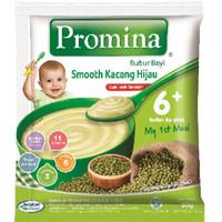 Promina Bubur Bayi Smooth Kacang Hijau Sashet 20 gr isi 8
