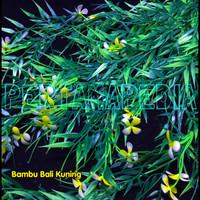 Bunga Plastik/ Daun Rambat/ Rumput Plastik/ Busa Bunga/ Bambu Bali
