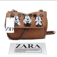 NEW !!! Zara bag mickey mouse crossbody shoulder bags women