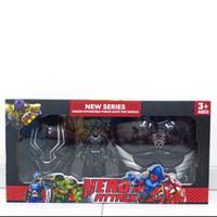 mainan hero attack/kostum avenger topeng avenger