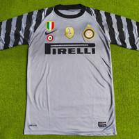 Jersey retro kiper Inter 2010 treble winner