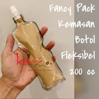 FP-200 Fancy Pack 200cc Flexible Bottle Food Grade Kemasan Botol Kpack