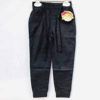 Celana Jogger Anak Perempuan Katun Strit Full Karet Merk LGD
