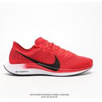 Sepatu Running Nike Zoom pegasus turbo 2 Red - Merah, 40