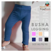 Legging bayi buka kaki busha polos best seller