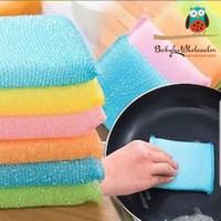 spons cuci piring warna warni / sponge cuci piring warna