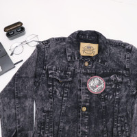 jaket jeans anak tanggung / jaket jeans denim / jaket jeans sandwash